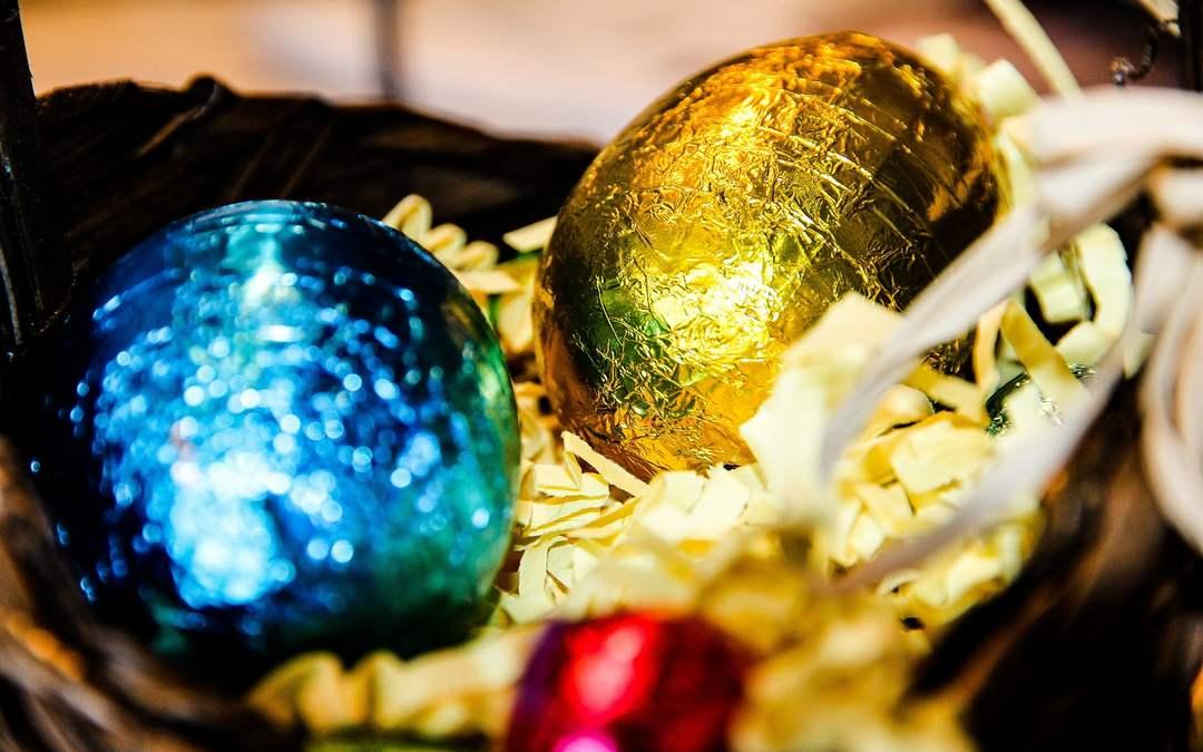 Spedire uova di Pasqua all'estero