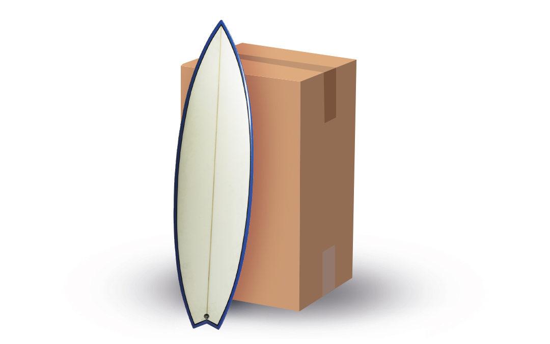 Spedire tavola surf: imballaggio e spedizione