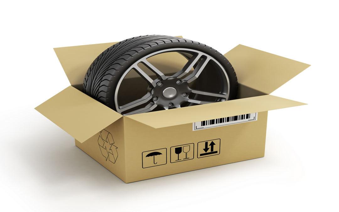 Spedire pneumatici corriere: come farlo nel modo corretto